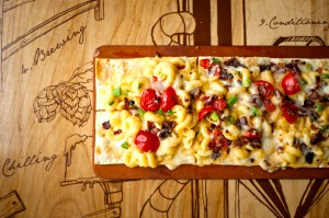 Mac N Cheese Pizza at the Party Room